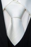 Particolare del foulard dello sposo Fotografia Stock Libera da Diritti