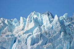 Particolare del ghiacciaio Fotografia Stock