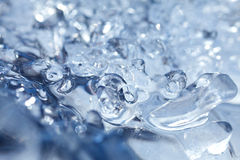 Particolare del ghiaccio Fotografia Stock