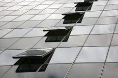 Particolare del grattacielo Immagini Stock Libere da Diritti