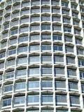 Particolare del grattacielo sul sole Fotografie Stock