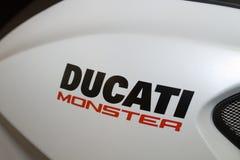 Particolare del mostro di Ducati Fotografie Stock