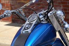 Particolare del motore del motociclo Fotografia Stock