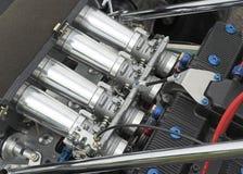 Particolare del motore della vettura da corsa Fotografia Stock Libera da Diritti