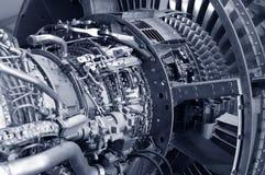 Particolare del motore a propulsione Fotografie Stock Libere da Diritti