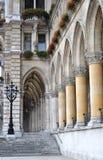 Particolare del municipio, Vienna Fotografia Stock
