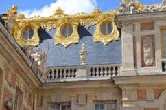 Particolare del palazzo di Versailles del chateau Fotografia Stock
