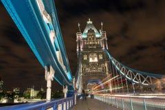 Particolare del ponticello della torretta a Londra fotografie stock libere da diritti