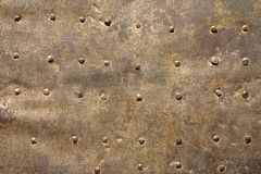 Particolare del portello del metallo Fotografia Stock Libera da Diritti