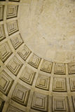 Particolare del soffitto della cupola Fotografie Stock