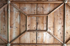 Particolare del soffitto di legno Immagini Stock