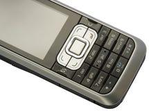 Particolare del telefono mobile Fotografia Stock Libera da Diritti