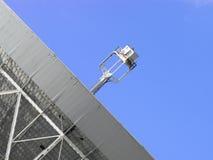 Particolare del telescopio radiofonico Fotografie Stock
