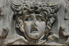Particolare del tempiale di Apollo a Didyma, Turchia Immagine Stock