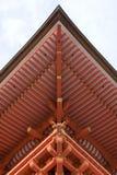 Particolare del tempiale (tetto) Fotografia Stock Libera da Diritti