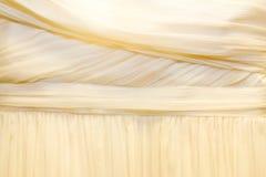 Particolare del vestito da sposa Fotografie Stock Libere da Diritti