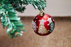 Particolare dell'albero di Natale Immagine Stock