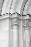 Particolare dell'arco, cattedrale di Dormition Immagine Stock