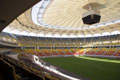 Particolare dell'arena nazionale - Bucarest Immagine Stock