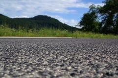 Particolare dell'asfalto Fotografia Stock Libera da Diritti