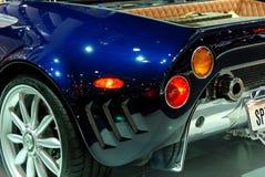 Particolare dell'automobile sportiva Fotografie Stock Libere da Diritti