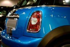Particolare dell'automobile sportiva compatta Fotografia Stock