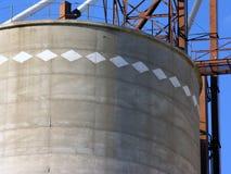 Particolare dell'elevatore di granulo Fotografie Stock Libere da Diritti