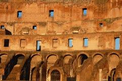 Particolare dell'interiore di Colosseum Roma Italia fotografia stock libera da diritti