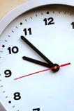 Particolare dell'orologio Immagini Stock Libere da Diritti