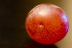 Particolare dell'uva rossa su priorità bassa nera Fotografie Stock