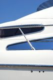 Particolare dell'yacht Immagini Stock