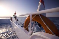 Particolare dell'yacht Immagini Stock Libere da Diritti