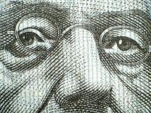 Particolare della banconota illustrazione di stock