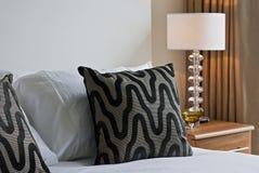 Particolare della camera da letto Immagine Stock