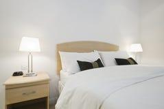 Particolare della camera da letto Fotografie Stock