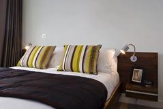 Particolare della camera da letto Fotografie Stock Libere da Diritti