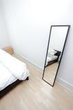 Particolare della camera da letto Fotografia Stock
