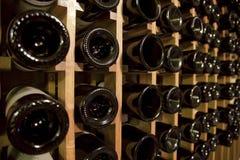 Particolare della cantina per vini Fotografia Stock Libera da Diritti