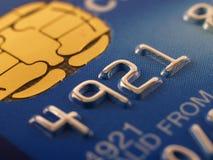 Particolare della carta di credito Immagini Stock