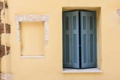 Particolare della casa di Chania Fotografie Stock Libere da Diritti