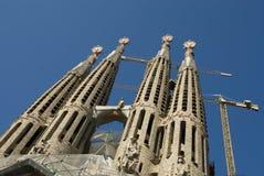 Particolare della cattedrale del Gaudi Fotografia Stock