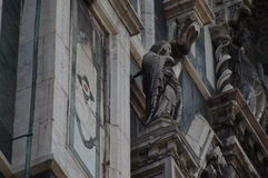 Particolare della cattedrale di Firenze Immagine Stock