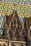 Particolare della cattedrale di Vienna Immagini Stock Libere da Diritti