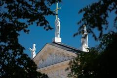 Particolare della cattedrale di Vilnius Fotografia Stock Libera da Diritti