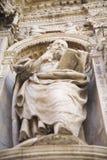 Particolare della chiesa della mary santa Immagine Stock