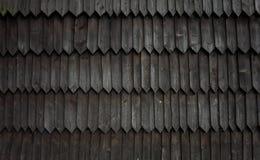 Particolare della chiesa di legno in Jurgów, Polonia Fotografia Stock