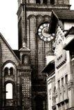 Particolare della chiesa protestante fotografie stock