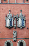 Particolare della città corridoio, Wroclaw, Immagine Stock