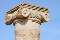 Colonna in Pafo immagini stock libere da diritti