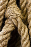 Particolare della corda Immagini Stock Libere da Diritti